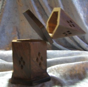 Cone Incense Burner & Storage Box