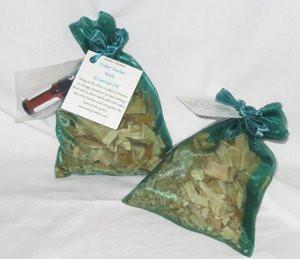 Cedar Sachets from NoNo's Herbals