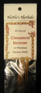 Cinnamon Incense Sticks-NoNo's Herbals