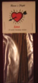 Love Mini Incense Sticks