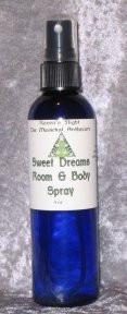 Sweet Dreams Room & Body Spray 4 oz