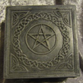 Celtic Pentagram Box 4x4""