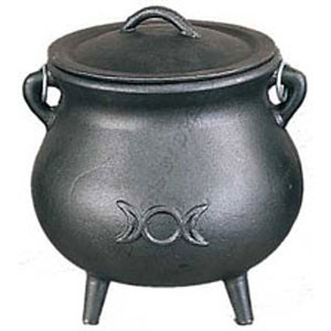 Small Triple Goddess Cauldron