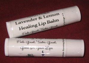 Lavender & Lemon Healing Lip Balm-NoNo's Herbals