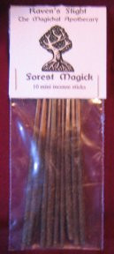 Forest Magick Mini Incense Sticks