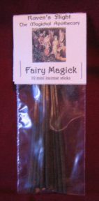 Fairy Magick Mini Incense Sticks