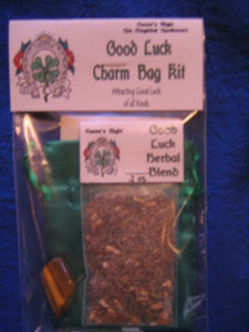 Good Luck Charm Bag Spell Kit