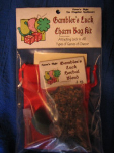 Gambler's Luck Charm Bag Spell Kit