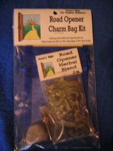 Road Opener Charm Bag Spell Kit