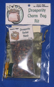 Prosperity Charm Bag Spell Kit