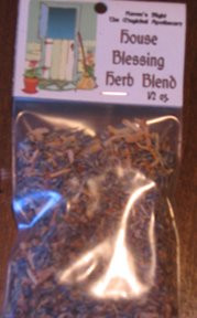 House Blessing and Protection Magickal Herb Blend