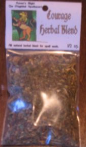 Courage Magickal Herb Blend