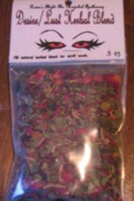 Lust/Desire Magickal Herb Blend
