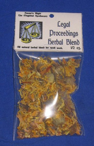 Legal Proceedings Magickal Herb Blend