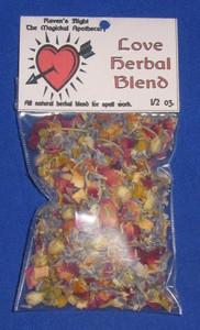 Love Magickal Herb Blend 1/2 oz.