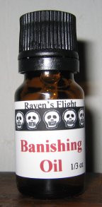 Banishing Magickal Oil Blend