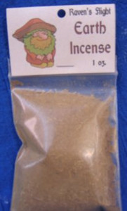 Earth Elemental Charcoal Incense 1 oz bag