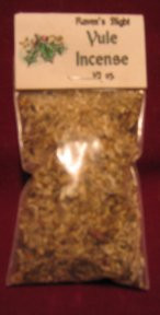 Winter Solstice/Yule Charcoal Incense 1/2 oz bag