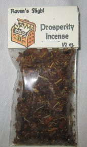 Prosperity Charcoal Incense 1/2 oz bag