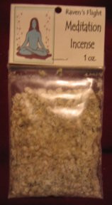 Meditation Charcoal Incense 1 oz bag