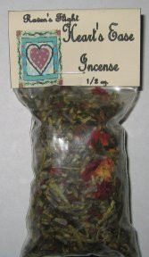 Heart's Ease Charcoal Incense 1/2 oz bag