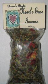 Heart's Ease Charcoal Incense 1/2 oz bag