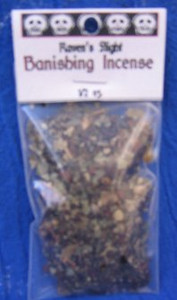 Banishing Charcoal Incense 1/2 oz bag