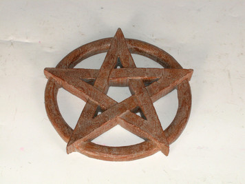 Open Pentacle Plaque/Altar Piece