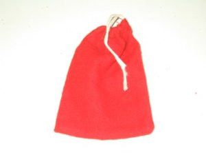 Red Flannel Bag