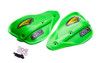 Cycra Classic Enduro Shields Shield Color: Green Shields and Black Hardware