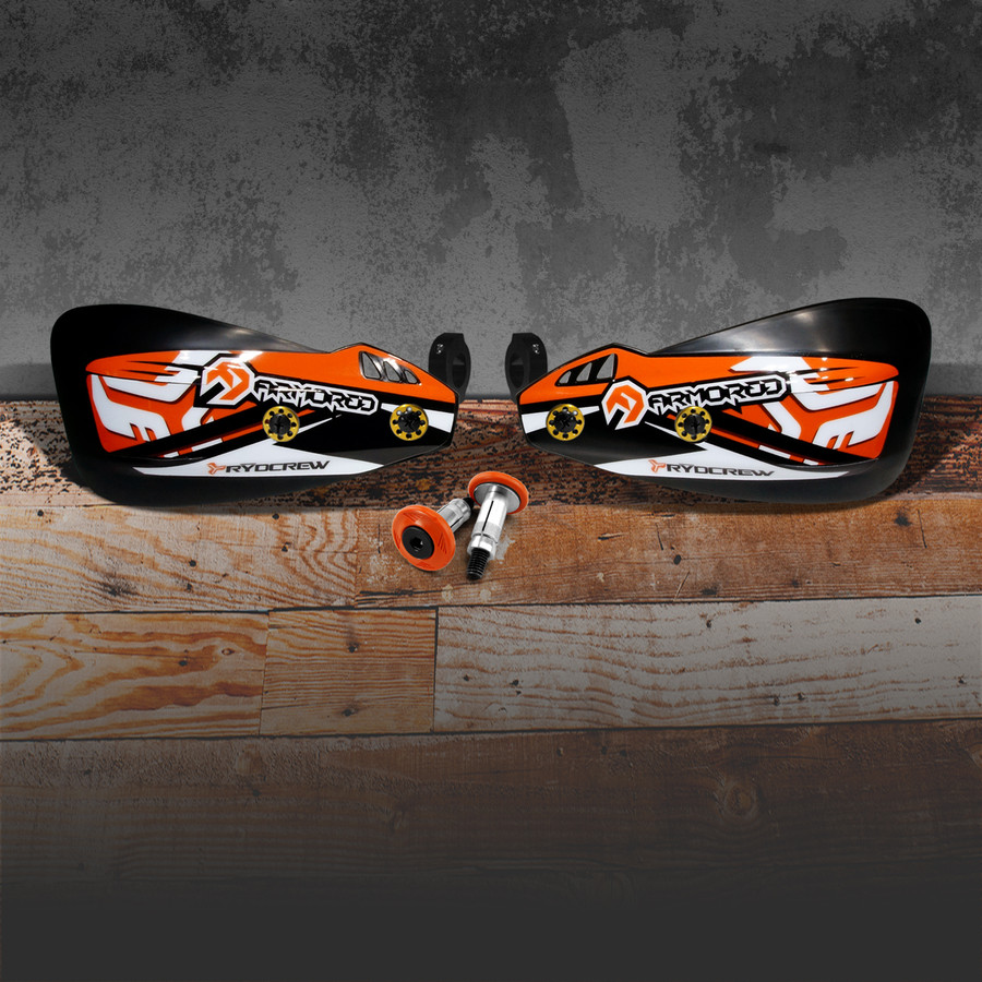 KTM Orange with thick full cover Rydcrew Graphics