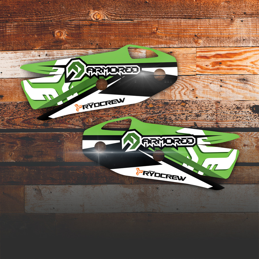 Armored Graphix for Cycra Enduro DX / Rebound Shields