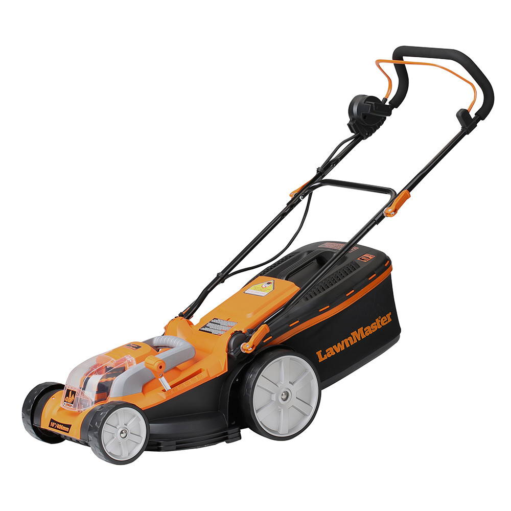 Lawnmaster Cordless Lawn Mower 40v Max Lithium Ion 16 Inch