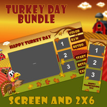 Turkey Day Bundle - 2x6 and Screen Templates
