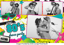 80's Party -  4x6 4 Image - CI Creative