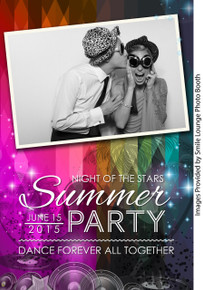 Summer Party -  4x6 4 Image - CI Creative