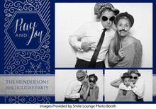 Peace and Joy Blue Theme-  4x6 4 Image - CI Creative