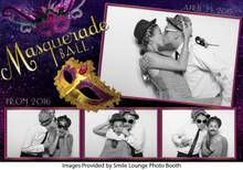Masquerade Ball-  4x6 4 Image - CI Creative