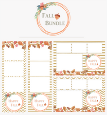 Fall Print Bundle