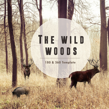 The Wild Woods 180 & 360 Template