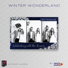 Winter Wonderland Portrait Mirror  4x6 3 Image - CI Creative