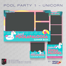 Pool Party 1 Unicorn Bundle - CI Creative