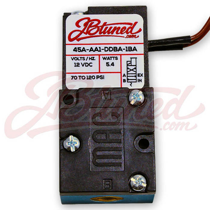 JBtuned Mac 4 Port boost control Solenoid