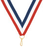 Red, White and Blue Neck Ribbon