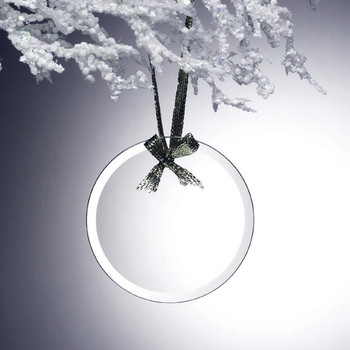 Circle Glass Ornament