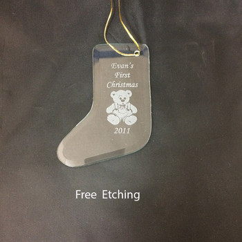 GEFTM117 Christmas Stocking Ornament