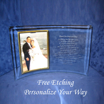 Personalized Anniversary Frame