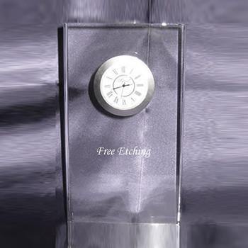 Crystal Illusion Clock
