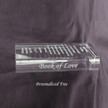 Crystal Book of Love Edge