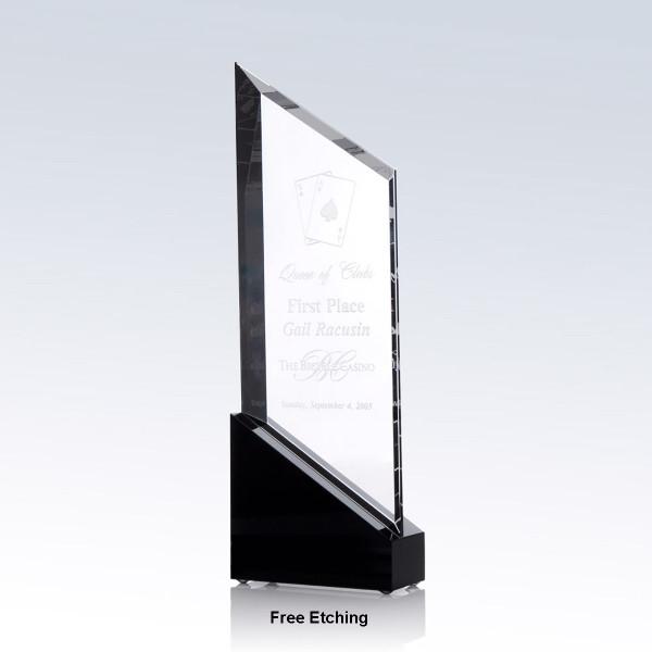 Rising Sail Crystal Award